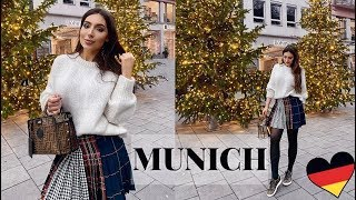 Travel Vlog: MUNICH- More Shopping & We Went Crazy In The Snow!