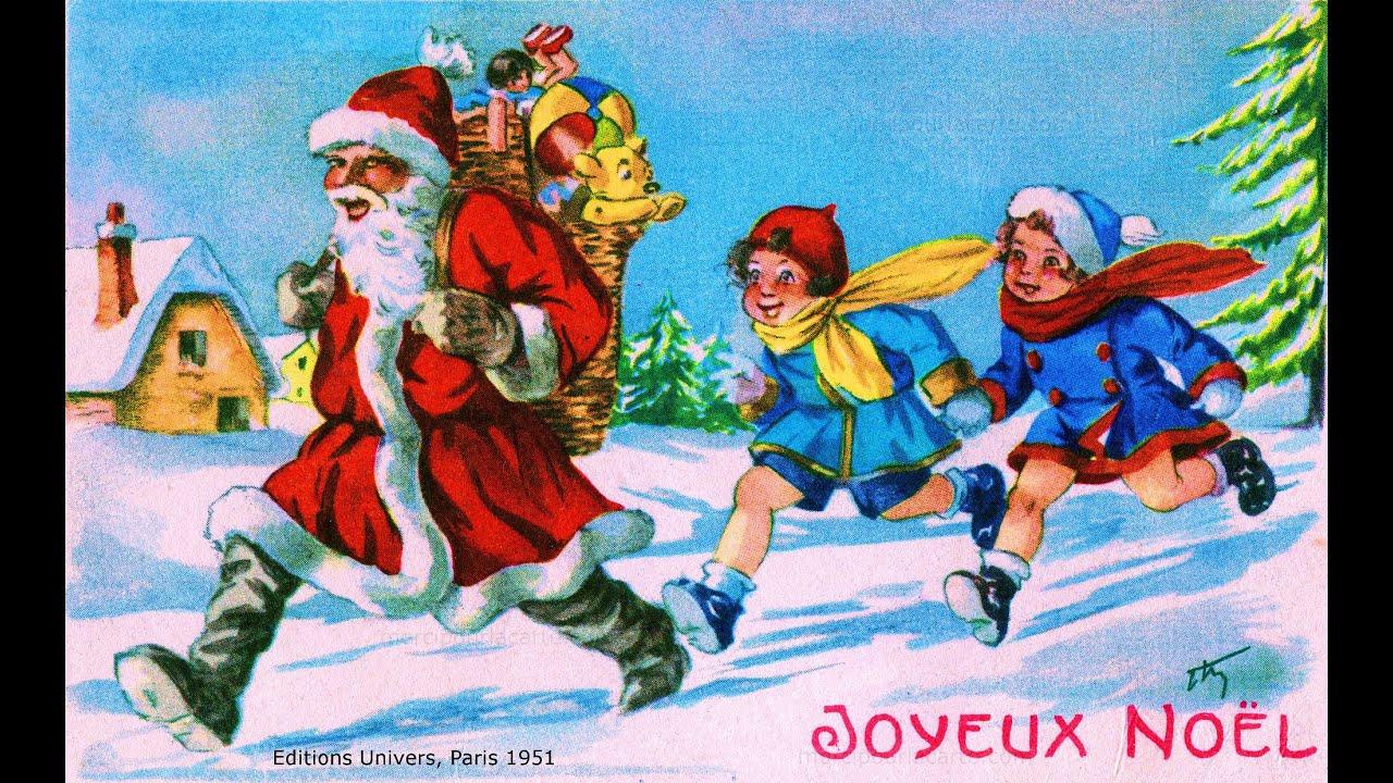 Noël en 50 cartes postales anciennes et récentes - 5 - YouTube