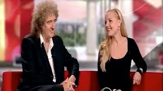 Brian May Kerry Ellis BBC1 Breakfast News edit 10 Sept 2010
