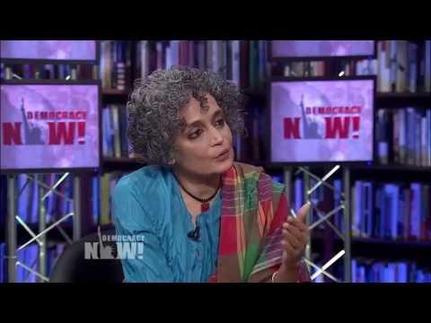 Novelist Arundhati Roy on Kashmir