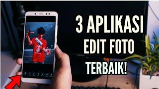3 Aplikasi Edit Foto Terbaik🔥 | Trick Edit Foto Di Android