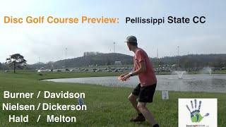 Disc Golf Course Preview - Pellissippi State CC (Knoxville, TN)