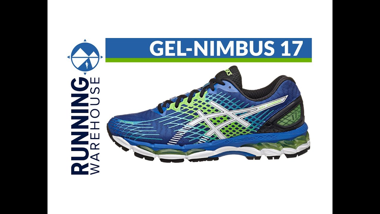 asics gel nimbus 17 for men youtube. Black Bedroom Furniture Sets. Home Design Ideas