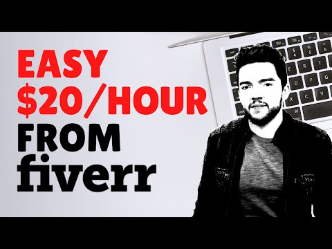 How to Make $20/Hour on Fiverr Without Any Skills