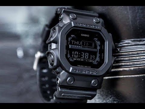 King Of G: Casio G Shock GX-56BB-1ER   Брутальный Блэк-аут