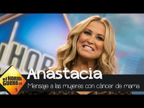 El mensaje de Anastacia a las mujeres que sufren cáncer de mama - El hormiguero 3.0