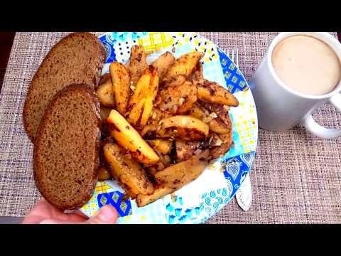 Как прожить в день на 74 рубля (37грн)?Завтрак, обед и ужин / vanzai - Видео с YouTube на компьютер, мобильный, android, ios