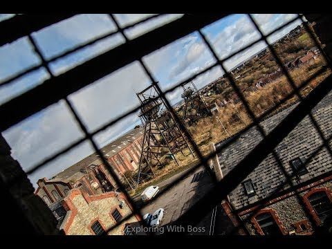 Exploring The Abandoned South Wales Penallta Mining Colliery -  Industrial Coal Miner (Art Deco)