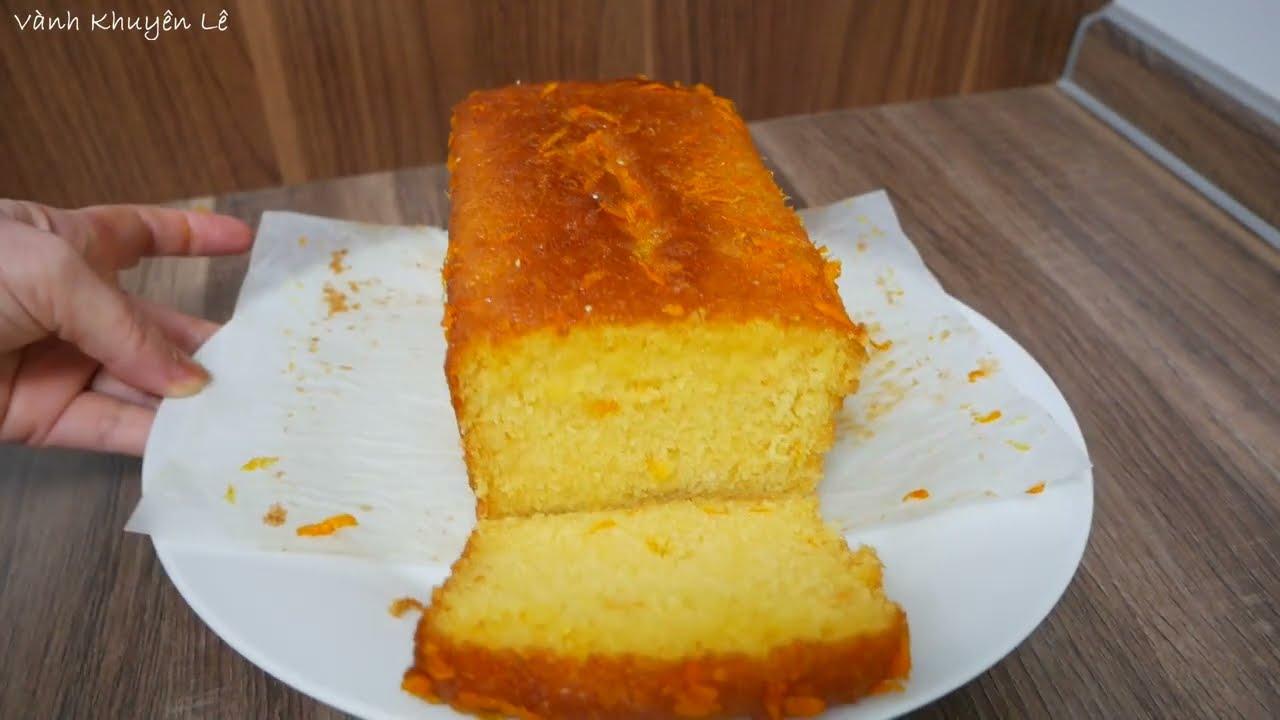 BÁNH BÔNG LAN CAM BƠ – Cách làm Bánh Bông Lan Cam Bơ Hà Lan dễ thành công by Vanh Khuyen