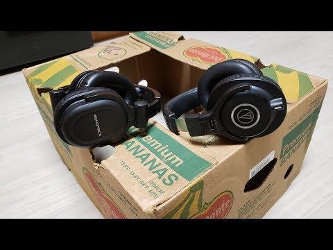 Monoprice DJ Style 8323 Vs ATH-M40X Comparison