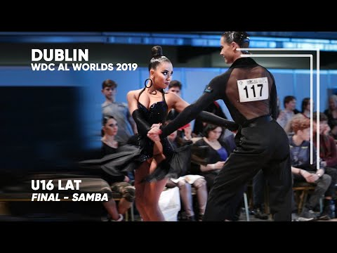 Igor Stifutin - Mariia Artamonova, RUS   2019 Dublin   World U16 LAT - F S