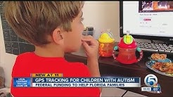 GPS tracking for children with autism