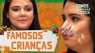Quem é esse famoso? | Malena e Caju | Donos da P**** Toda | Humor Multishow