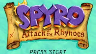 Game Boy Advance Longplay [198] Spyro: Attack of the Rhynocs