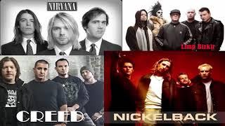 Nickelback vs Creed vs Nirvana Greatest Hits Full Album | Best 90's Alternative Rock Playlist