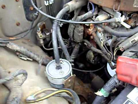 1987 nissan pickup special edition z24 motor rev youtube rh youtube com