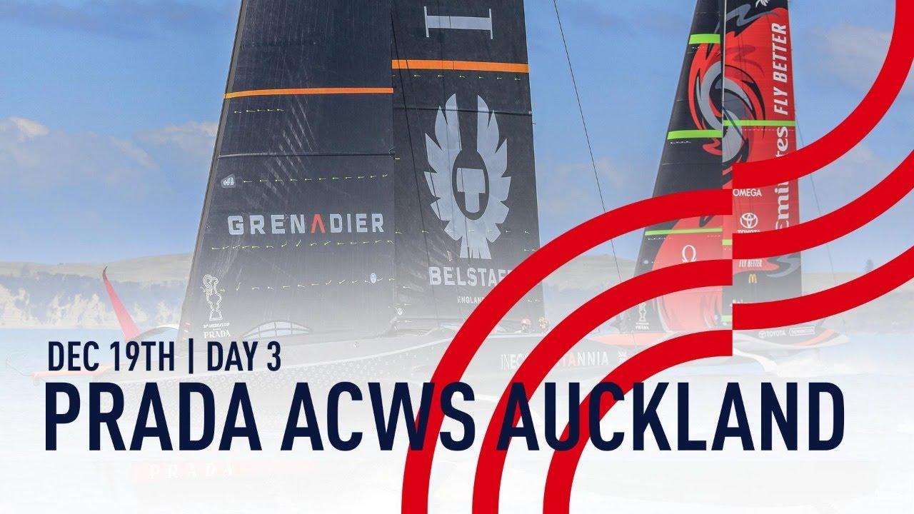 Full Race Replay | Day 3 | PRADA America's Cup World Series Auckland, NZ