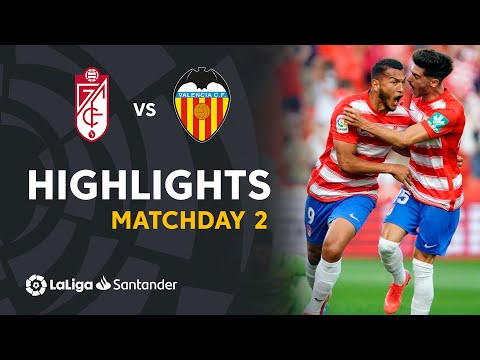 Granada Valencia Goals And Highlights