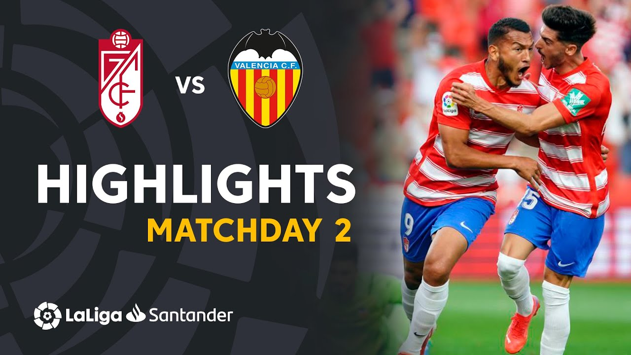 Download Resumen de Granada CF vs Valencia CF (1-1)