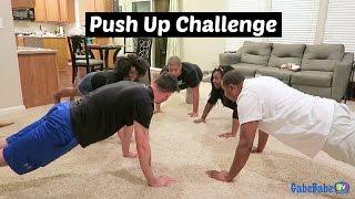 PUSH UP CHALLENGE!