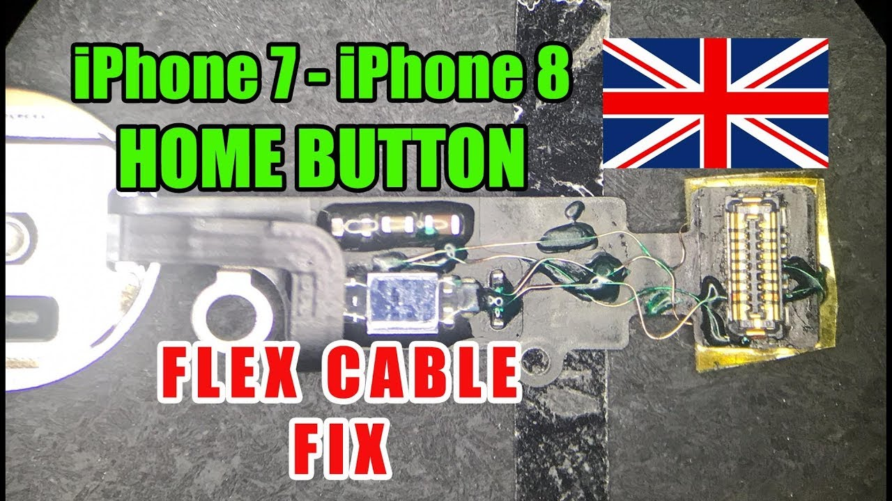 separation shoes 76613 2346d iPhone 7 Home Button Flex Cable Torn Fix / Touch ID Fix - xFix.co.uk