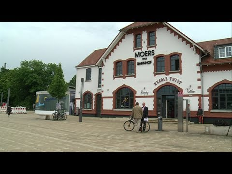 stadt-panorama TV: Verschönerungen am Moerser Bahnhof