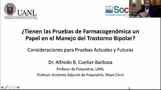 Farmacogenómica en Trastorno Bipolar. Séptima Sesión EMC SOCHITAB  2020 Dr A. Cuellar