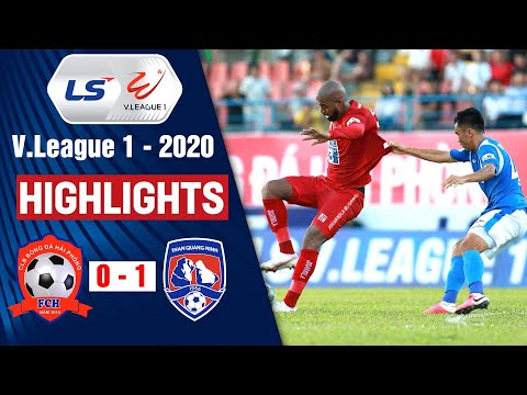 Hai Phong Than Quang Ninh Goals And Highlights
