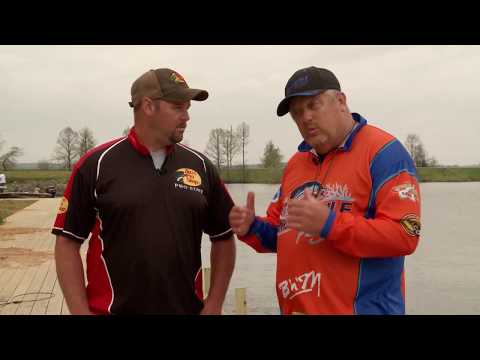 Jigging for Crappie on Lake D'Arbonne LA with Brandon Jennings