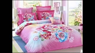 New 2015 Cotton Reactive Printing 100% Cotton Queen Bedding Quilt Duvet Cover Sets 4Pc