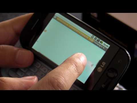 LG GW620 Review HD ( in Romana ) - www.TelefonulTau.eu -