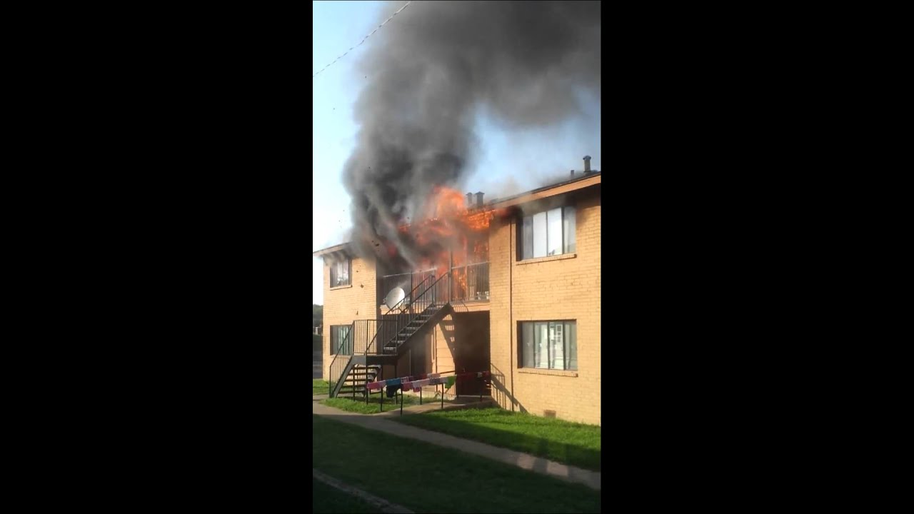 Attractive Fort Worth, Texas Apartment Fire Attack Video