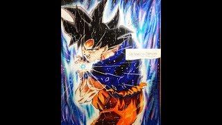 Speed Drawing - Goku Ultra Instinct KAMEHAMEHA [DRAGON BALL SUPER]