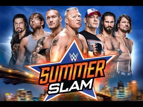 WWE SummerSlam 2018 Match Card Predictions - YouTube