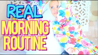 My Realistic Morning Routine for School! Back to School 2016