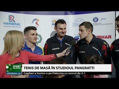 Declaraţiile băieţilor din naţionala de tenis de masă, după victoria cu Cehia