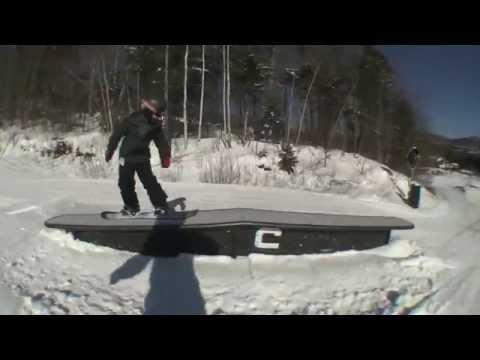 Kid Snowboarder Eddie Cobb