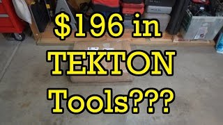 What Does $196 In TEKTON Tools Look Like???