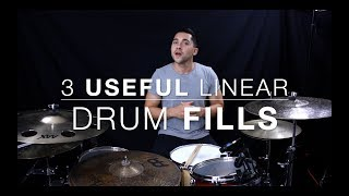 3 Useful Linear Fills - Drum Lesson with Eric Fisher