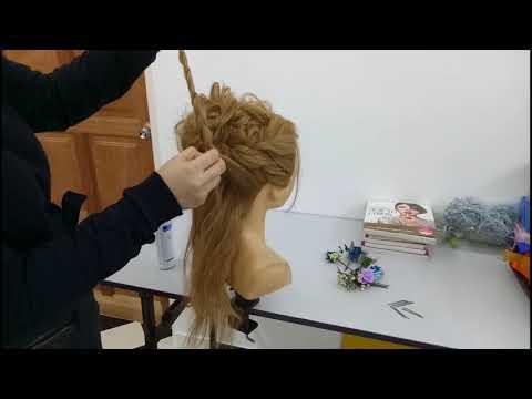 空气抽丝日式新娘发型 || Japanese Bridal Hairstyle