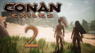 Conan Exiles - прохождение игры на русском - В поисках места для дома [#2] | PC