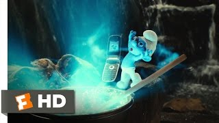 The Smurfs (2011) - The Blue Moon Scene (810)  Movieclips