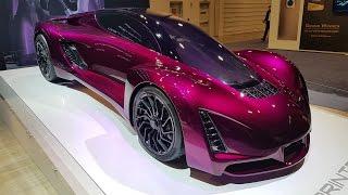 Les plus belles voitures et motos du CES 2017 de Las Vegas