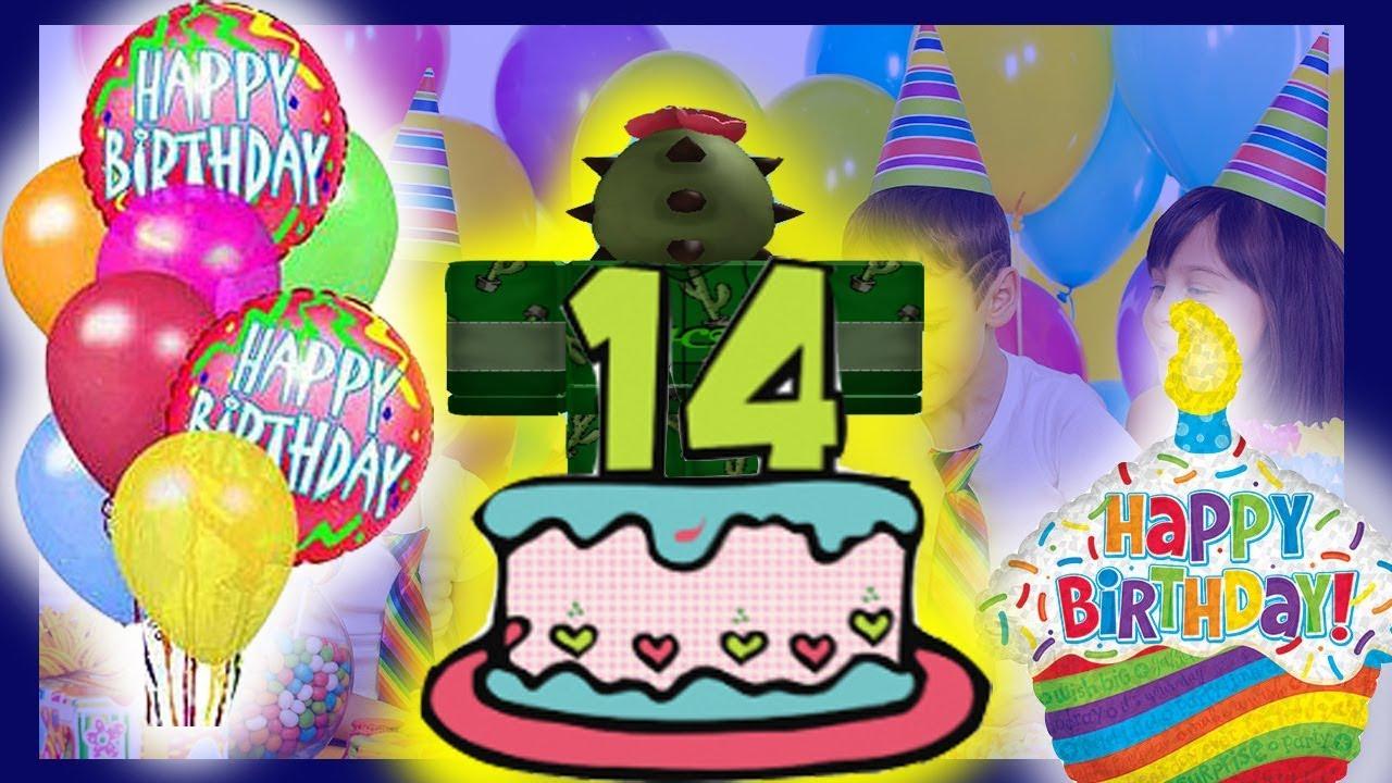 Happy Birthday To Cacti123's 14th Birthday!!!🎂[YOUTUBER ...