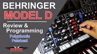 Using the Behringer Model D