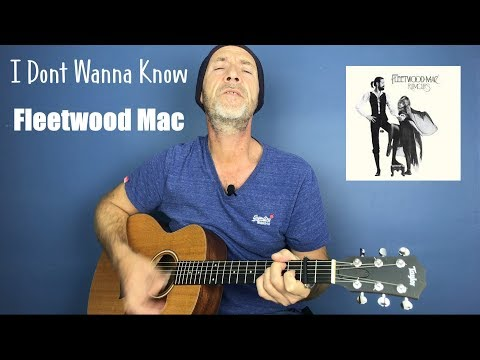 Fleetwood Mac - I Don't Wanna Know - Guitar Lesson By Joe Murphy