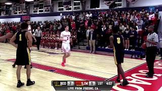 Bishop O'Dowd vs San Joaquin Memorial High School Boys Basketball LIVE 11/29/18
