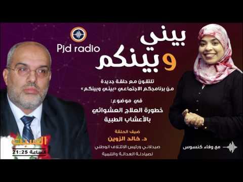 """خطورة العلاج العشوائي بالاعشاب مع د/ الزوين في """"بيني وبينكم """"PJD RADIO"""