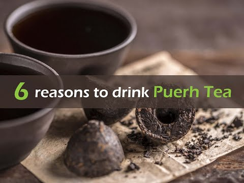 6 reasons to drink Puer'h Tea