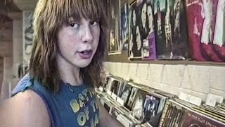 Metalhead Teens in a Record Store (1989)